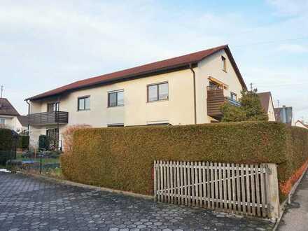 +++ NEU: 3 ZKB-Wohnung im 1. OG mit Balkon in Langweid zur Miete +++