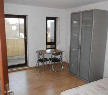 (VE 469) Möblirtes Apartment mit Balkon und Badewanne in Mannheim Rheinau