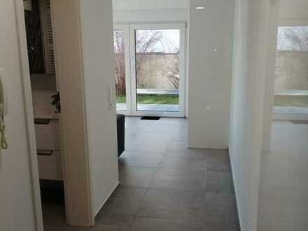 LUXUS Erdgeschosswohnung in Mingolsheim mit eigenem Gartenanteil