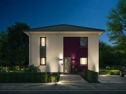 Bauen mit Elbe-Haus®! Wunderschöne Stadtvilla mit großzügigem Raumangebot in Mechernich-Eicks
