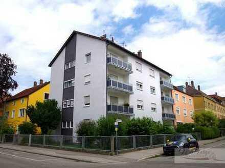 Wohnen im Herzen des Stadtjägerviertels:  Helle 2ZKB mit Süd-West-Balkon
