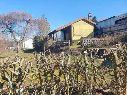 +++ Für Naturliebhaber: Freizeitgelände mit kleinem Gartenhaus in sonniger Lage++++