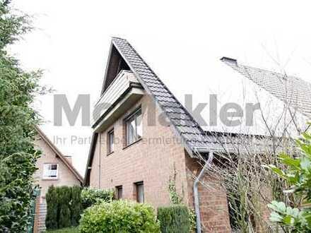 Toplage am Rande der Innenstadt +++ 2,5-Zi.-Maisonette mit Balkon und Pkw-Stellplatz in Raesfeld