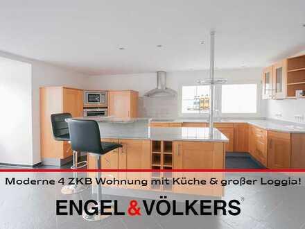 Moderne 4 ZKB Wohnung mit Küche & großer Loggia!