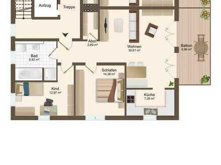 ERSTBEZUG - exklusive 3 ZKB OG Wohnung mit Balkon und TG -Stellplätzen in Bestlage von Beilngries