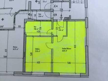 Geräumige, neuwertige 2-Zimmer-Wohnung in Bedburg