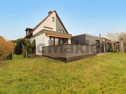 Ideal für große Familien: Großzügiges EFH mit Werkstatt, Garten und Terrasse, zentral in Flensburg
