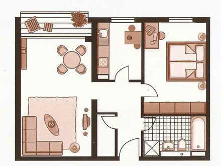 Schöne 2 Zi Wohnung