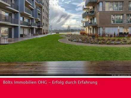 1. Monat mietfrei ! Weserblick zum Träumen! Sonnendurchflutete 3 Zimmer-Wohnung mit großer Terrasse