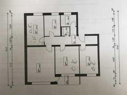 Helle und ruhige 4-Zimmer-Wohnung mit Balkon in Bad Homburg
