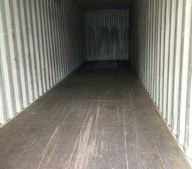 Lagercontainer auf sicherem Gelände zu vermieten 30qm