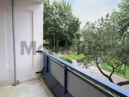 Potenzial nahe dem Kulkwitzer See: Gut geschnittene 1-Zimmer-Wohnung mit Balkon in Leipzig-Grünau