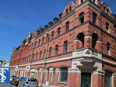 Imposantes Wohn- und Geschäftshaus Denkmalschutz mit Hintergebäude in Oelsnitz - FÜR INVESTOREN!