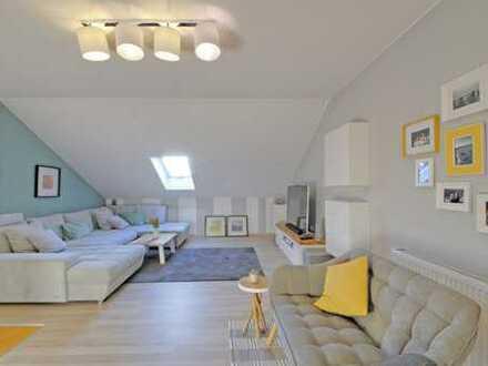 Haus im Haus 117m² Wohnung auf 2 Ebenen in ruhiger Wohnlage!