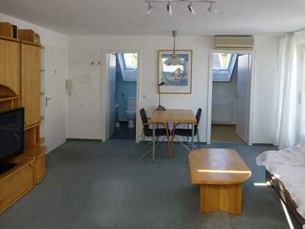 Freundliches und helles 1-Zimmer-Appartement mit Balkon und Einbauküche in Ludwigsburg