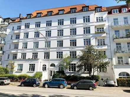 Stilvoll Wohnen mit Blick über Eppendorf