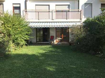 1,5 Zimmer Singlewohnung mit 85m² eigenem Südgarten und Terasse in FDB-West
