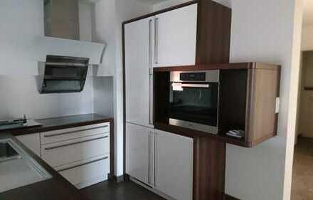 Neuwertige 4,5-Zimmer-Wohnung mit Balkon und Einbauküche in Vöhringen