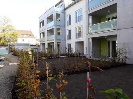 Erstbezug: helle 2-Zimmer-DG-Wohnung mit Balkon und TG-Stellplatz in Kirchheim unter Teck