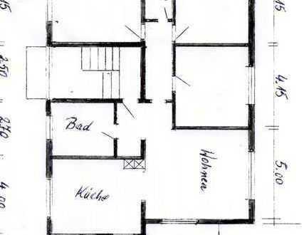 Schöne, geräumige vier Zimmer Wohnung in Freiburg im Breisgau, Waltershofen