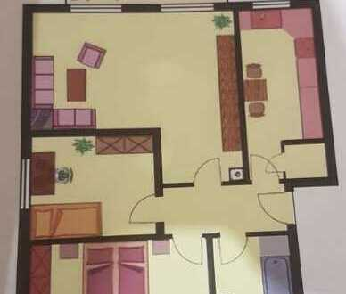 Gepflegte 3-Zimmer-Erdgeschosswohnung mit Balkon in Philippsburg