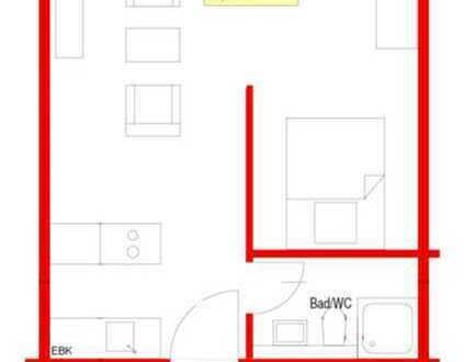 Schöne 1 Zimmer Wohnung in Singen-City