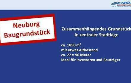 Baugrundstück in Neuburg an der Donau - Stadtzentrum - mit Altbestand - Ein Objekt von SOWA Immob...