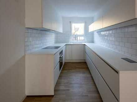 Modernes Reihenmittelhaus mit exklusiver Einbauküche und Dachterrasse