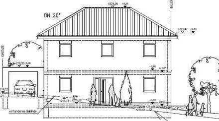 Neubau einer modernen Stadtvilla mit Garage in Marienfeld!