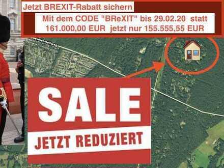 Mit BREXIT-Rabatt:Baugrundstück direkt am Wald Senner Hellweg ca.2.000qm bis 29.02.20 155.555,55 EUR