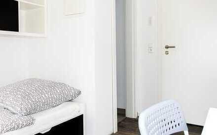 möblierte 1-Zimmerwohnung mit TV, Küchenzeile, Dusche/WC, Internet, Waschmaschine, Wohnung 1