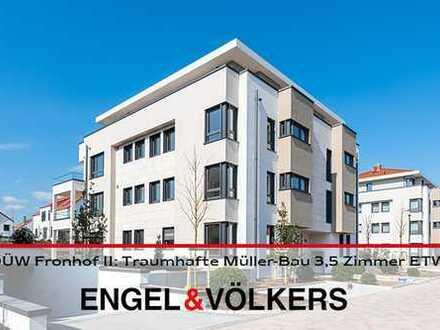 DÜW-Fronhof II: Neubau - Traumhafte Müller-Bau 3,5 Zimmer ETW!