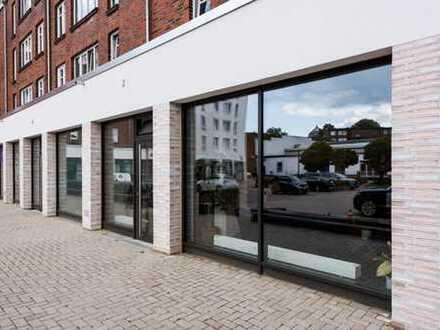 Kleine Büro-/Praxis-Atelierfläche - zentral und ruhig gelegen, Parkplätze direkt vor der Tür
