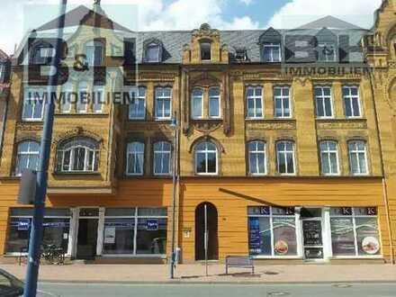 Gepflegte Praxisräume Ladengeschäft ca. 92 qm in der Innenstadt von Bitterfeld mit Zufahrt/Stellpl.