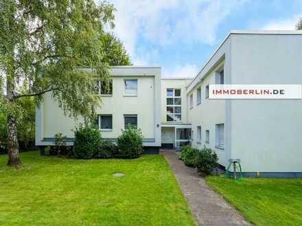 IMMOBERLIN.DE - Sonnenhelle Wohnung mit ruhiger Balkonloggia in Westlage
