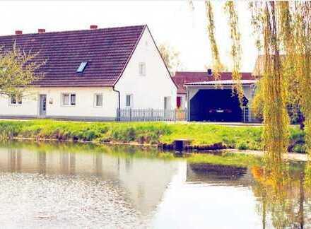 Top renovierte Doppelhaushälfte in Gunzenhausen OT Cronheim