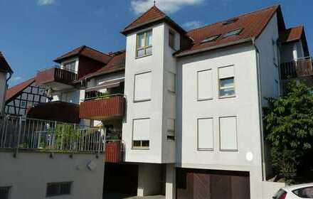 Helle 3-Zimmer-Wohnung (inkl. Einzelgarage) in guter Lage von Büdesheim