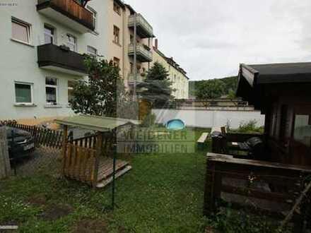 4 Raum Wohnung mit Mietergarten und Bad mit Wanne in Weida!