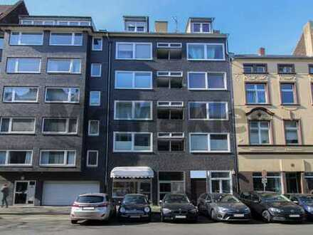 Ansprechende Kapitalanlage: Vermietetes 1-Zi.-Apartment zentrumsnah in Flingern-Nord