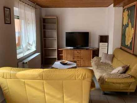 Riedstadt-sehr gepflegtes + möbliertes Souterrain-Apartment