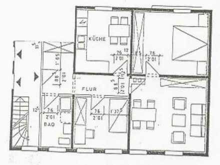 Ruhiges Wohnen in BS-Mascherode! In einem Fachwerkhaus gelegene 3 ZW mit neuem Bad.