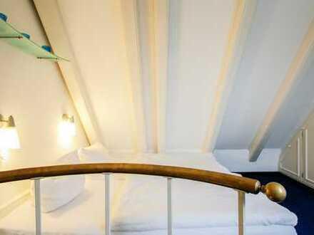 Möblierte 3-Zimmer-Loft-Wohnung mit Einbauküche in Westerland