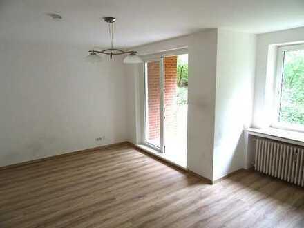 Aufgepasst... 3-Zimmer-Erdgeschoss-Wohnung mit Balkon und Küche