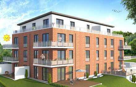 Erstbezug: schöne 3-Zimmer-Wohnung mit Einbauküche und Balkon in Lilienthal