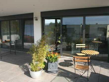 Möblierte, exklusive 65m² Neubau-Wohnung mit Sonnenterrasse und EBK