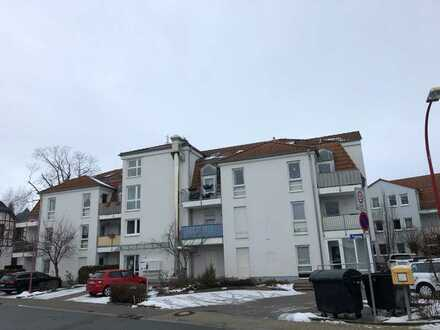 BARRIEREFREI - gemütliche 2-Zimmer-Wohnung mit Terrasse und Stellplatz!!!