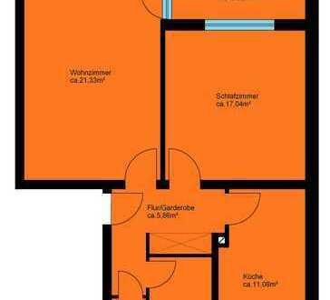 Schöne Wohnung – toller Grundriss