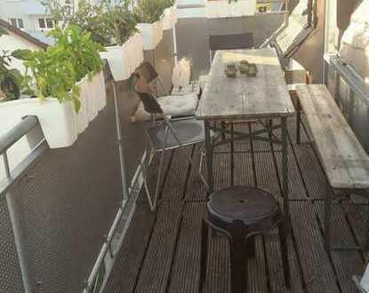 20m² Zimmer in 4er WG, 130m², 2 Balkone und Skyline-Ausblick!