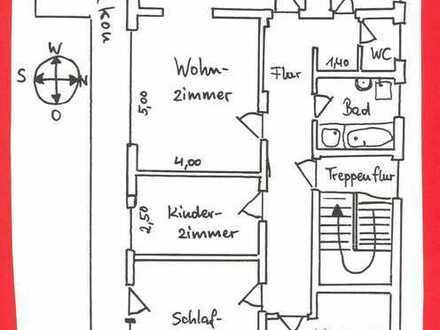 5 ZKB-Wohnung in Aiging (Nähe Traunstein)