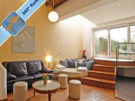 Architektonisch anspruchsvolles Stadthaus in ruhiger Innenhoflage in München - Nähe BMW!